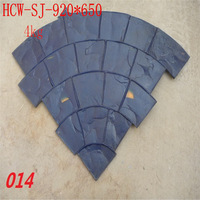 embossed cement wall mold