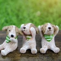 Resin animal statues dog decoration