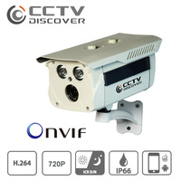 IP Camera 720P Securiy Waterproof HD Network CCTV Camera Support IPhone Android,ONVIF H.264 free shipping