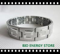 B007 Stainless steel 209 ge Bio energy bracelet bangles