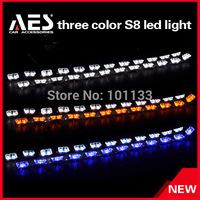 New arrival Car headlight, New S8 running led strip light, three color