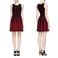 Fall 2014 Top Quality Charming Super Stretch Sleeveless Knit  Dress 140708LJ01