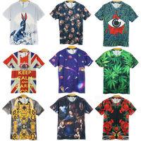 2014 New Men Summer 3d Tops T shirts Fashion 3d Printed man woman O-neck t-shirt Brand Casual Short-sleeve tshirts Plus size