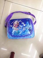 2014 Sale Neoprene with Radio Cans Frozen Bag Princess Elsa Bags Children for Girls Bolsa De Coruja 23*17*8cm