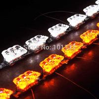 Least!!! Car headlight, New S8 running led strip three color flexible light