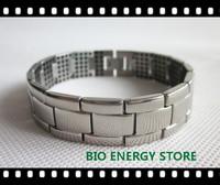 B008 312 Ge double L Scalar bio energy Titanium bracelet health benefits