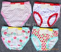 2014 Direct Selling New Acetate Girls Letter Children's Underwear Briefs Cartoon Baby 100% Fine Fabric Children 's Wholesale