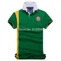 polo new 2014 mens polo shirt brands Brazil men  camisa polo masculina