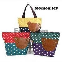 South Korean student tutoring children winghouse Mummy bag hand shoulder bag Bear Polka Dot hand bag handbags