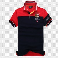2014 new embroidery polo shirt men Aeronautica militare Slim Fit Shirts For Men Brand Polo T-Shirt short Sleeve Shirt size:M-XXL