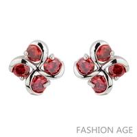 2014 New design Swiss Zircon Stud Earrings exaggerated Austrian Crystal women's top Quality Stud earrings (FE-156)
