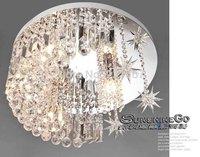 New Modern Elegant Simple Crystal Ceiling Lamp Decorated In Dining Room Bedroom Luxury Modern Light Bedroom Lamp DS-007