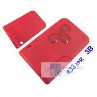 Renault Megane Smart Key (Red Color) 433MHZ