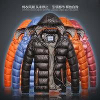 2014 hot sale warm men's urban fashion men padded  jacket men's thicker winter parka Freeshipping