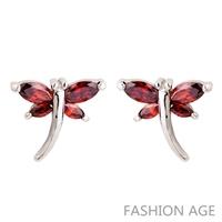 2014 New design Swiss Zircon Stud Earrings exaggerated Austrian Crystal top Quality Stud earrings for women (FE-167)