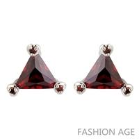 2014 New design Swiss Zircon Stud Earrings exaggerated Austrian Crystal top Quality Stud earrings for women (FE-159)