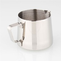 150ML Stainless Steel Milk Pitcher/ Pull Flower Cup Free Shipping