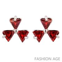 2014 New design Swiss Zircon Stud Earrings exaggerated Austrian Crystal top Quality Stud earrings for women (FE-170)
