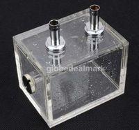 200ml Acrylic water tank cooler water cooling radiator computer cpu water block Free shipping