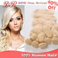 Top 6A Peruvian Virgin Hair Body Wave Hair Blonde #613 Virgin Human Hair Weaves Extensions 3pcs 4pcs 5pcs Rosa Hair Products