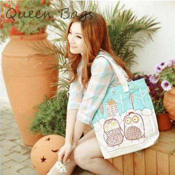 известный бренд 2014 hot girl продажа сова популярных мешок мода случайных холст сумка vinatge s3922 мультфильм сумка