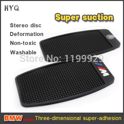 Free shipping 2014 PU gel sticky car nano pad for BMW /car dash boar non slip pad/car anti slip mat/sticky dash pad(China (Mainland))