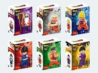 Dragon Ball Z Super Saiyan 6 mini figures Dragonball turtle fairy Assembly building blocks toys for kids