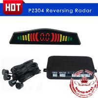 Car Detector Parking Assistance Auto Parktronic Parking Sensor Led Radar New Arrival PZ300 with Warming Voice Bibi