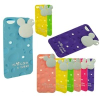 Details about NEW Cute Cheese Pattern Soft Silicone Case for Apple iPhone 5 5S