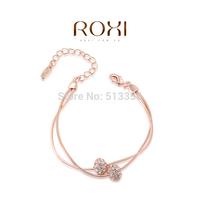 ROXI brand new arrival rose gold plated crystal bracelets & bangles ,fashion women'jewelry,2060302425b