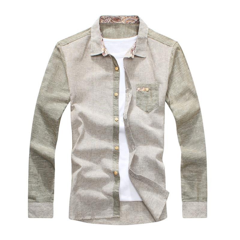 Мужская повседневная рубашка Loose m L xL xxL 9819 мужская футболка m l xl xxl m l xl xxl