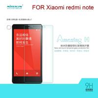 NILLKIN Amazing Nanometer H Anti-Explosion Tempered Glass Screen Protector For xiaomi redmi note free shipping