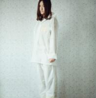 2014 free shipping white translucent split raincoat rain pants 2 piece set male women's tailored raincoat
