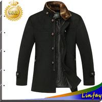 TOP Quality Men Jacket Fur Collar Brand College Jacket Winter Coats Men Clothing Winter Jackets Outdoor Coat Mens Overcoat