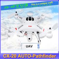 HOTsell 2014 RC Quadcopter CX-20 load 300g AUTO-Pathfinder GPS Control CX 20 RC Drone CX20 CX20C CX20T Professional aerial