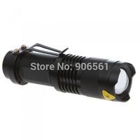 Hot Sale original outdoor 300 lumens flashlight CREE Q5 Domestic Authentic zoom led flashlight mini torch portable flashlight