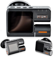 Free shipping 1280*720P IR LED Car Black Box Car Vehicle CAM Video Camera Recorder Camcorder DVR I1000