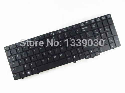 The cheap us laptop keyboard For HP Probook 6555B US Black Keyboard V103226BS1(China (Mainland))