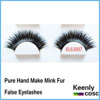 Free Shipping! Quality Super thick mink false eyelashes,long mink lashes for beauty Individual Belle Mink False Eyelash