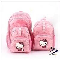2014 New backpack Hello kitty children's school backpack pupil student bagssatchel shoulder bags children backpacks