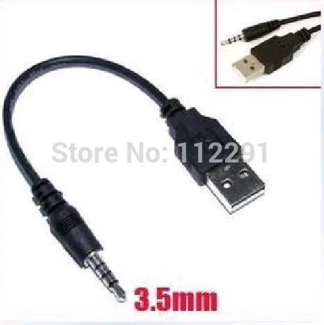 Usb a 3.5mm filo per mp3/mp4 il download dei dati/cavo audio