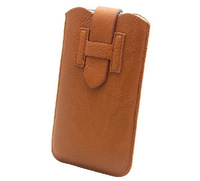 Free shipping New H Style Pull Up Rope Leather Pouch For lenovo s860 phone bags cases