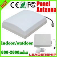 5pcs/lot Outdoor Panel Antenna 9dBi 800mhz-2500MHz GSM 3G WIFI DCS WCDMA UMTS  cell phone booster antenna 3G indoor antenna
