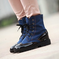 [BOOT122] Wholesale women's boots winter boots Han edition short boots Europe and the laser firing knight boots Women's shoes