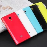 Xiaomi Redmi / Redmi 1S Housings Hongmi Red Rice Cover Six Color Optional Red White Gold Blue Green Orange