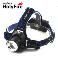 Holyfire t6 cree led headlamp light charge 10w outdoor lamp