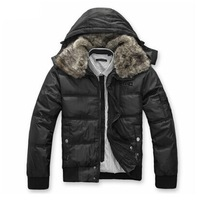men's clothing wadded jacket short design male wadded jacket casual cotton-padded jacket coat  size M-XXXL