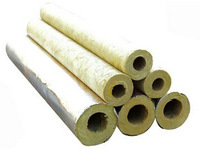 WHOLESALE Rockwool thermal insulation Waterproof shell tube corrosion Insulation building Materials Fireproof  Rockwool products