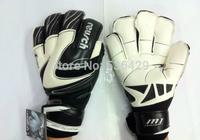 Free shipping Brand Professional Brazilian Thickened Reusch 's top goalkeeper goves football Senior M1 Latex plam Soccer