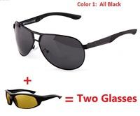 Hot Sale New Cool Men's Polarized Sunglasses High Quality Brand Driving Aviator Fashion Sun Glasses UV400 Eyewear Free Shipping